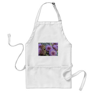 French Flower Market Purples Standard Apron