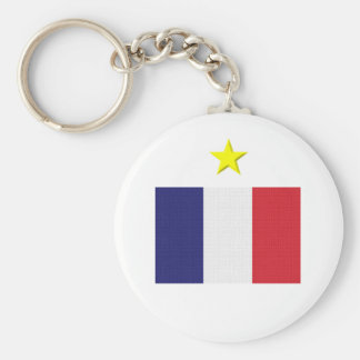 French Footie Key Chain