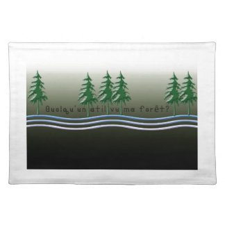 French-Forest Place Mat
