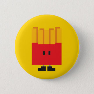 French-fried Button - Yellow