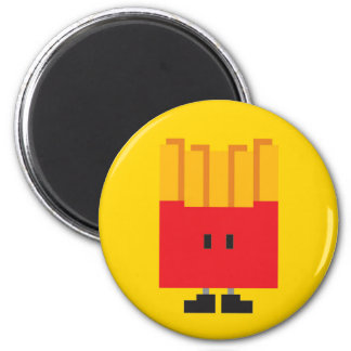 French fried Magnet - Yellow