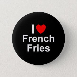French Fries 6 Cm Round Badge