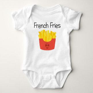 French Fries Baby Bodysuit