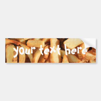 French Fries bumper sticker