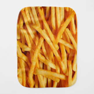 French Fries Burp Cloth