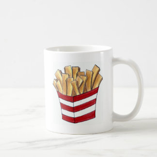 French Fries Foodie Junk Fast Food Fry Mug