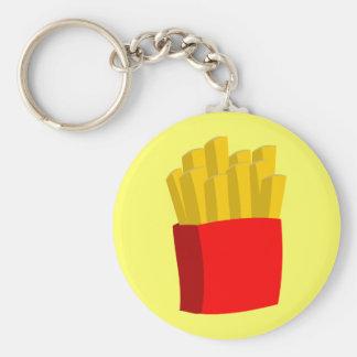 French Fries Key Ring