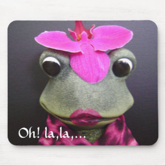 French frog mousepad