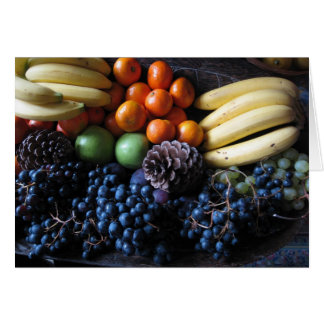 French Fruit Card