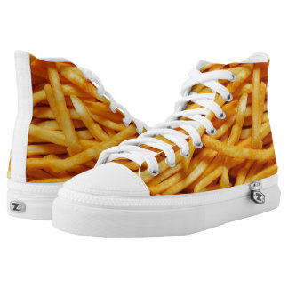 French Fry Foot High Tops