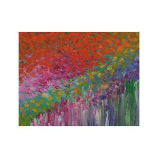 French Garden - Acrylic on Canvas