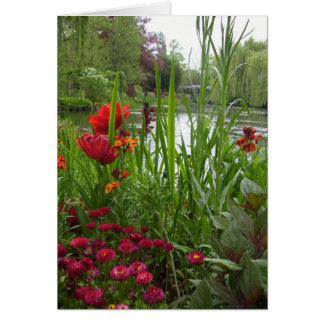 French Garden Card