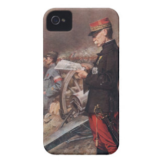 French General Joseph Gallieni by Ferdinand Roybet iPhone 4 Cases