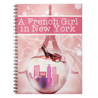 French Girl Notebook