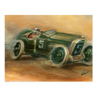 French Grand Prix Racecar by Ethan Harper Postcard
