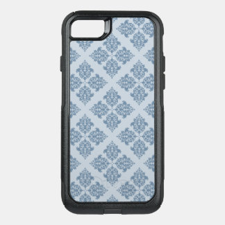 French Gray Moroccan Damask OtterBox Commuter iPhone 8/7 Case