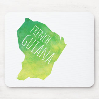 French Guiana Mouse Pad