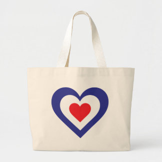 French Heart Tote Bag
