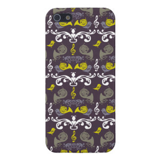 French Horn and Birdie iPhone 5/5S Case