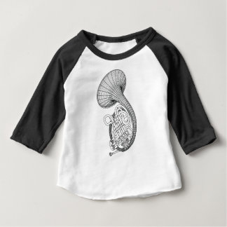 French horn baby T-Shirt