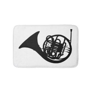 French Horn Bath Mat