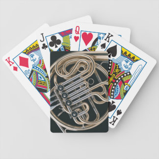 French Horn Bicycle Playing Cards