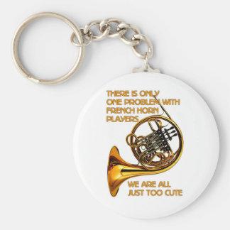 French Horn Cutie Key Ring