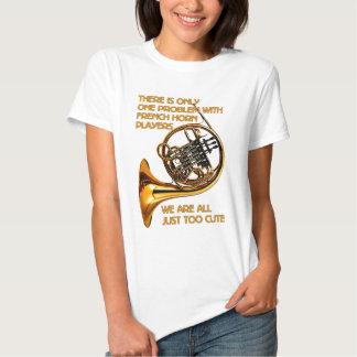 French Horn Cutie Tshirts