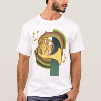 French Horn Deco T-Shirt