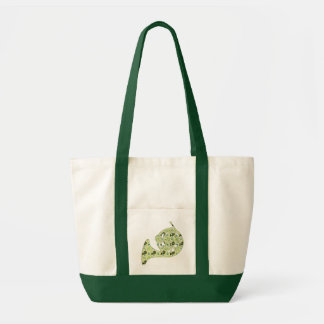 French Horn Pattern Tote Bag