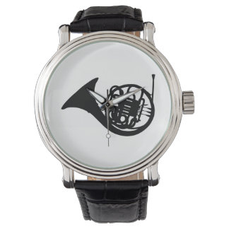 French Horn Watch