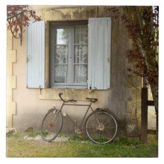 French House Ceramic Photo Tile