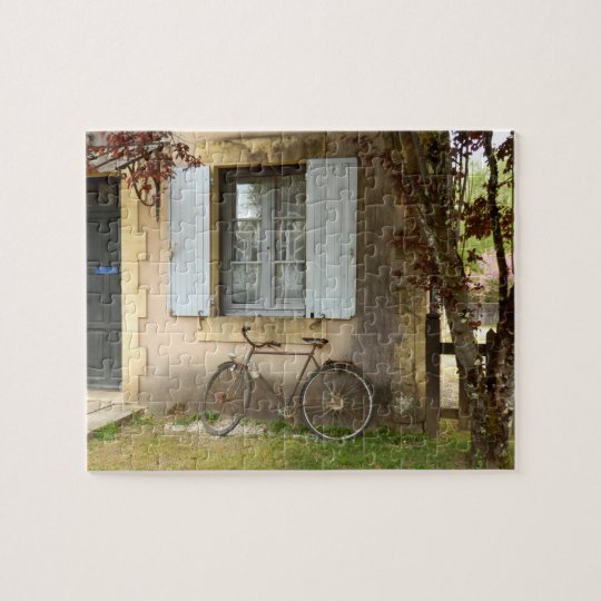 French House Photo Puzzle with Gift Box