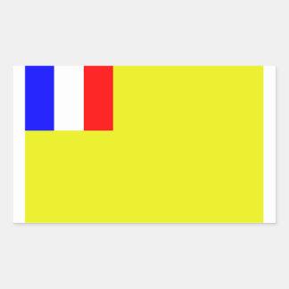 French Indo-China Rectangular Sticker