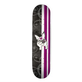 French Kiss Bliss Sk8 Custom Skateboard