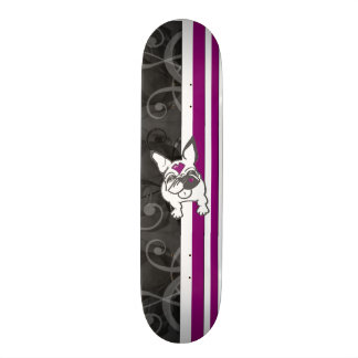 French Kiss Bliss Sk8 Skate Board Deck