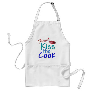 French-Kiss the Cook Standard Apron