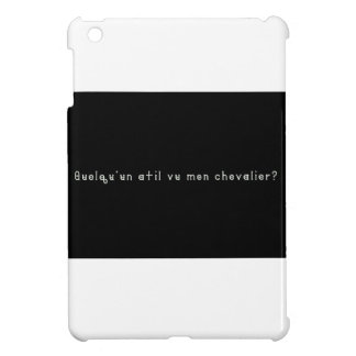 French-Knight iPad Mini Cases