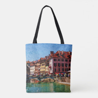 French Landscape Tote bag