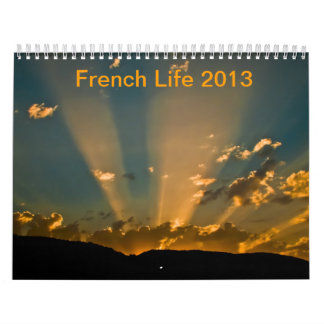 French life 2013 wall calendars
