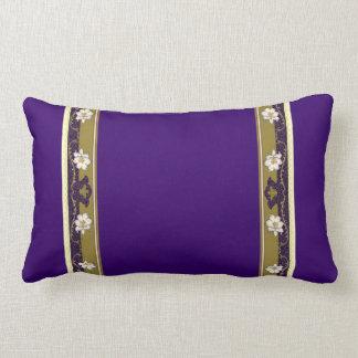 French Limoges Lilies Lumbar Cushion