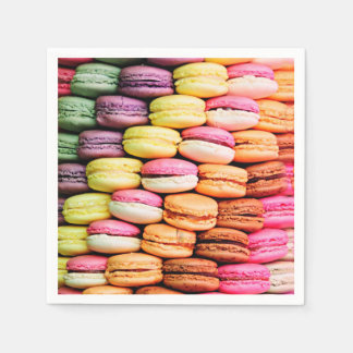 French macaron disposable serviettes