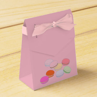 French Macaron Favor Box