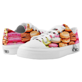 French macaron low tops