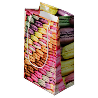 French macaron small gift bag