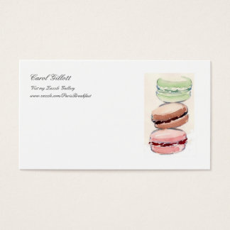 French Macarons Biz Card