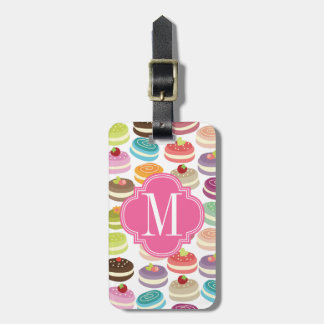 French Macarons Personalized Luggage Tag