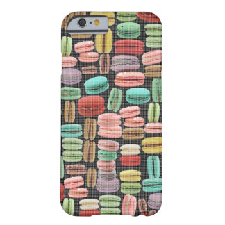 French Macarons Pop Art Barely There iPhone 6 Case