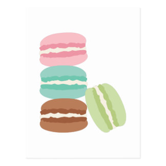 French Macarons Postcard