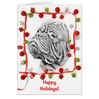 French Mastiff Card